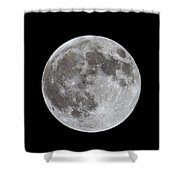 Full Moon 2 Shower Curtain