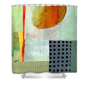 Full Moon This Time Shower Curtain