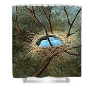 Full Nest Shower Curtain