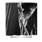 Full Of Empty Series - Solid Shower Curtain