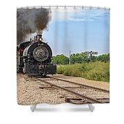 Full Steam To Nowhere Shower Curtain