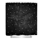Full Stop Shower Curtain