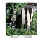 Full View Fallingwater  Shower Curtain
