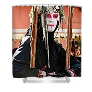 Fully Framed Mime Shower Curtain