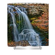Fulmer Falls - Childs State Park Shower Curtain