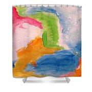 Fun Abstract Shower Curtain