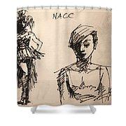 Fun At Art Of Fashion At Nacc 1 Shower Curtain