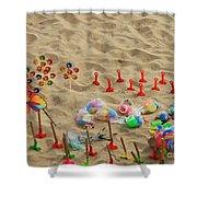 Fun At The Beach Shower Curtain