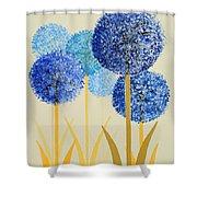 Fun Colours  2 Shower Curtain