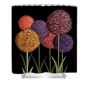 Fun Colours Shower Curtain