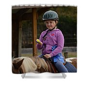 Fun On A Pony Shower Curtain