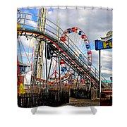 Fun Town Shower Curtain