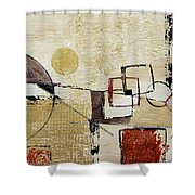 Fun With Shapes Shower Curtain