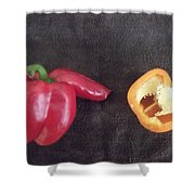 Fun With Vegetables Shower Curtain