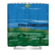 Fun With Water Shower Curtain