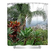 Funchal Maderia Shower Curtain