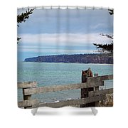 Fundy View Shower Curtain