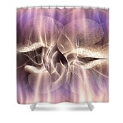 Funghi In Rays Shower Curtain