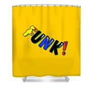 Funk Shower Curtain