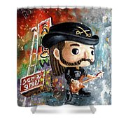 Funko Lemmy Kilminster Out To Lunch Shower Curtain
