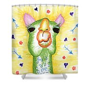 Funky Camel Shower Curtain