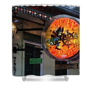 Funky Pirate Shower Curtain