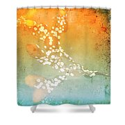 Funky Seaweed Shower Curtain