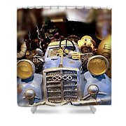 Funny Automobile Shower Curtain