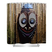 Funny Face Shower Curtain