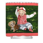 Funny Moments Shower Curtain