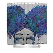 Furaha Shower Curtain
