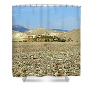 Furnace Creek Inn Shower Curtain