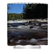 Furnace Falls - Minden Hills Shower Curtain