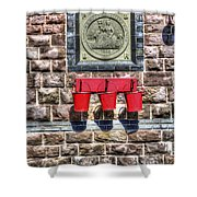 Furnace Sidings Railway Station 4 Shower Curtain