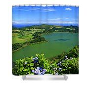 Furnas Lake Shower Curtain