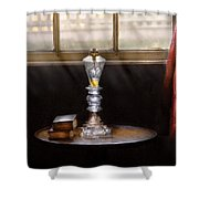 Furniture - Lamp -  The Oil Lamp Shower Curtain