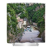 Furore Italy Shower Curtain