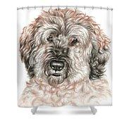 Furry Friend Shower Curtain