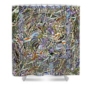 Fused Shower Curtain