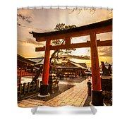 Fushimi Inari Taisha Shrine In Kyoto Shower Curtain