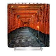 Fushimi Inari Taisha Shrine In Kyoto, Japan Shower Curtain