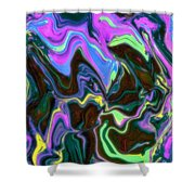 Fusia Translucid Shower Curtain