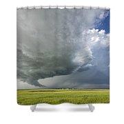 Future Tornado Shower Curtain
