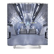 Futurism Shower Curtain