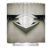 Futuristic Architecture One Shower Curtain