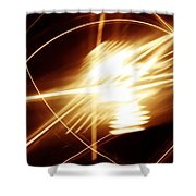 Futuristic Background Shower Curtain