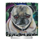 G Dawg Shower Curtain