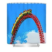 G Force Shower Curtain