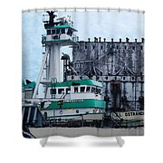 G. L. Ostrander Shower Curtain
