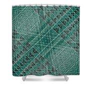 G - N W B  -  Netwireblast Shower Curtain